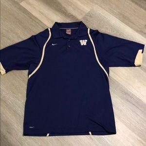 Men's Nike UW Polo, Size M